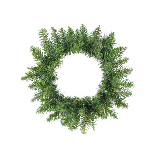 """12"""" Buffalo Fir Artificial Christmas Wreath - Unlit - IMAGE 1"""