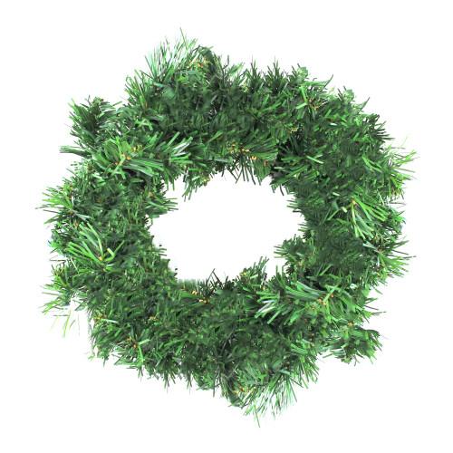"""12"""" Deluxe Windsor Pine Artificial Christmas Wreath - Unlit - IMAGE 1"""