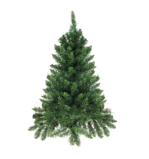 2' Buffalo Fir Full Artificial Christmas Wall or Door Tree - Unlit - IMAGE 1