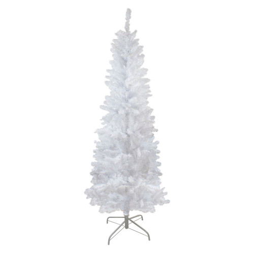 6' Pencil White Spruce Artificial Christmas Tree - Unlit - IMAGE 1