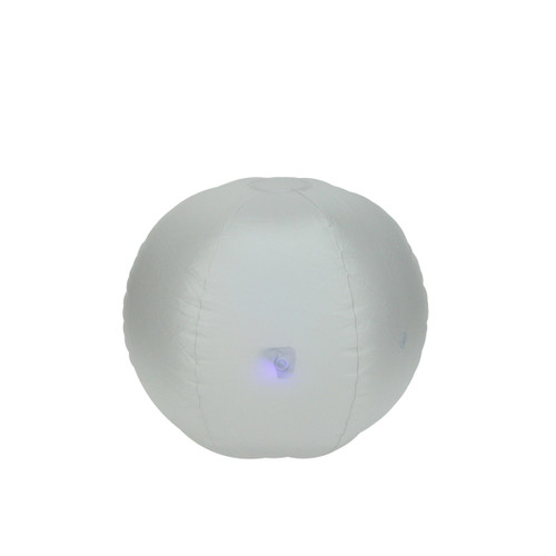 """16.5"""" Inflatable LED Color Changing Pool Beach Ball - IMAGE 1"""