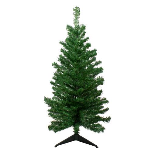 3' Medium Mixed Classic Pine Artificial Christmas Tree - Unlit - IMAGE 1