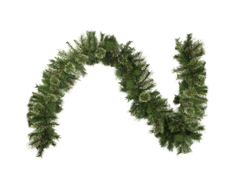 """9' x 14"""" Cashmere Mixed Pine Artificial Christmas Garland - Unlit - IMAGE 1"""