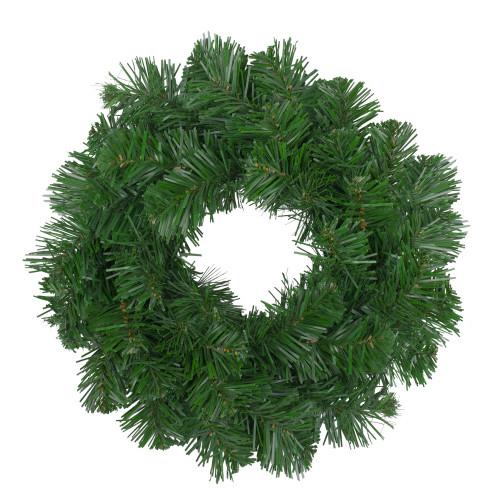 """Deluxe Windsor Pine Artificial Christmas Wreath - 10"""" Unlit - IMAGE 1"""