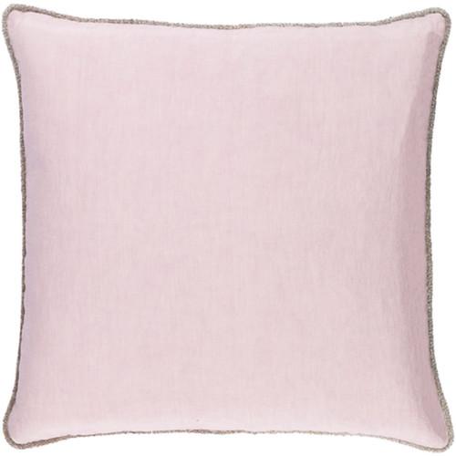 "18"" Dawn Purple Decorative Square Throw Pillow - IMAGE 1"
