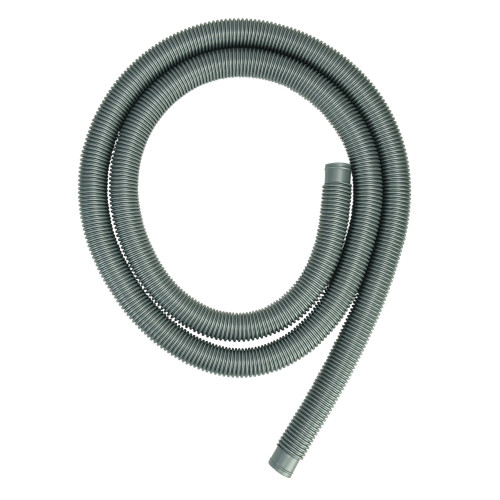 9ft x 1.25in Gray Heavy-Duty Pool Filter Connect Hose - IMAGE 1