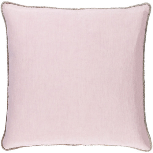 "22"" Dawn Purple Decorative Square Throw Pillow - IMAGE 1"