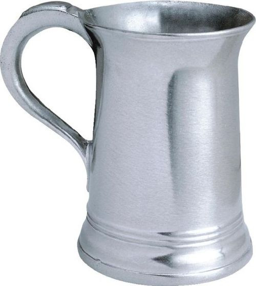 """Pack of 2 Classic Hand Crafted Statesmetal Kitchen 36 Ounce Drinking Mugs 6.5"""" - IMAGE 1"""