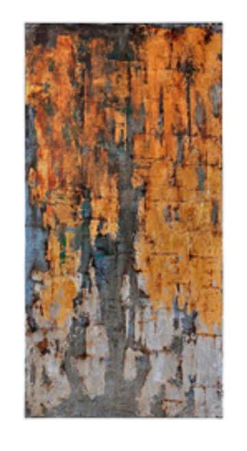 """60"""" x 30"""" Hand Painted Abstract Oil Painting on Canvas Stretched on Frame - IMAGE 1"""