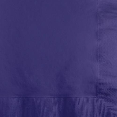 "Club Pack of 1200 Grape Purple Premium 2-Ply Disposable Beverage Napkins 5"" - IMAGE 1"