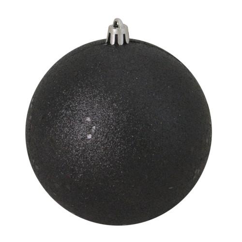 Black Christmas Balls.Black Shades Shatterproof Christmas Ball Ornaments L Christmas Central
