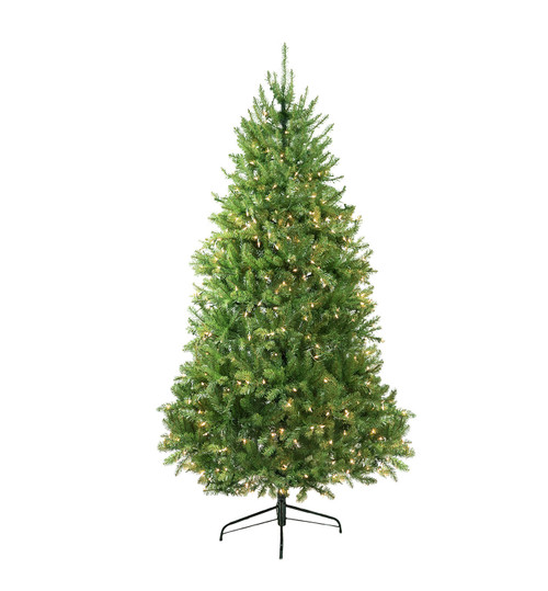 9' Pre-Lit Full Northern Pine Artificial Christmas Tree - Clear Lights - IMAGE 1