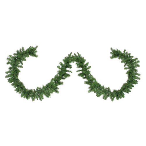"9' x 10"" Northern Pine Artificial Christmas Garland - Unlit - IMAGE 1"