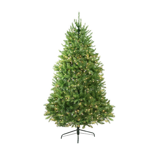14' Pre-Lit Full Northern Pine Artificial Christmas Tree - Clear Lights - IMAGE 1
