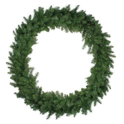 Green Northern Pine Artificial Christmas Wreath - 48-Inch, Unlit - IMAGE 1