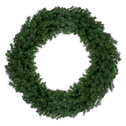 Canadian Pine Artificial Christmas Wreath - 48-Inch, Unlit - IMAGE 1