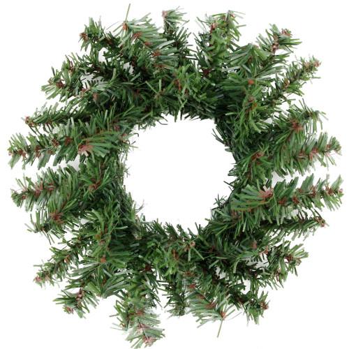 Mini Pine Artificial Christmas Wreath - 5-Inch, Unlit - IMAGE 1