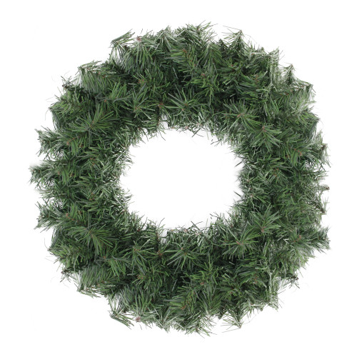 Canadian Pine Artificial Christmas Wreath - 20-Inch, Unlit - IMAGE 1