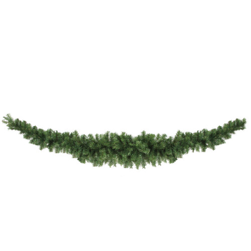 "13"" Green Canadian Pine Artificial Christmas Swag - Unlit - IMAGE 1"