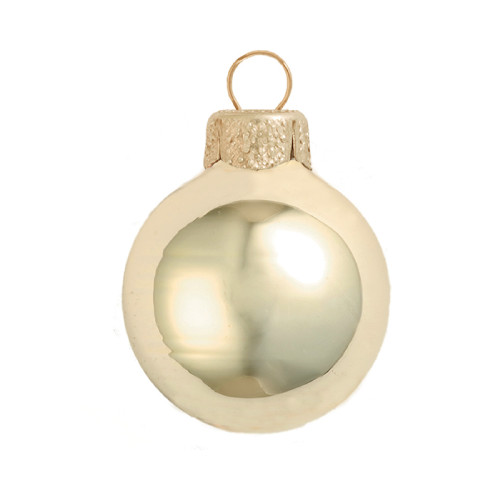 "Shiny Champagne Glass Ball Christmas Ornament 7"" (180mm) - IMAGE 1"