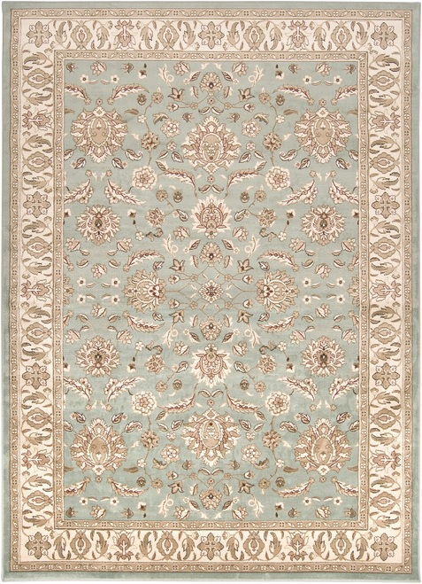 8.75' x 12.75' Contemporary Brown and Gray Rectangular Area Throw Rug - IMAGE 1