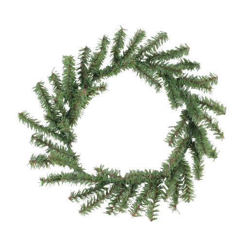 Green Mini Pine Artificial Christmas Wreath - 10-Inch, Unlit - IMAGE 1