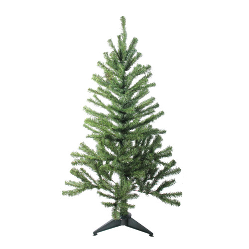 4' Canadian Pine Medium Artificial Christmas Tree - Unlit - IMAGE 1