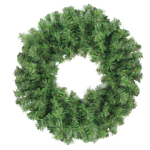 "16"" Colorado Spruce 2-Tone Artificial Christmas Wreath - Unlit - IMAGE 1"