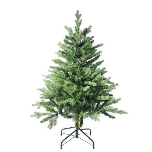 4' Mixed Eden Pine Artificial Christmas Tree - Unlit - IMAGE 1