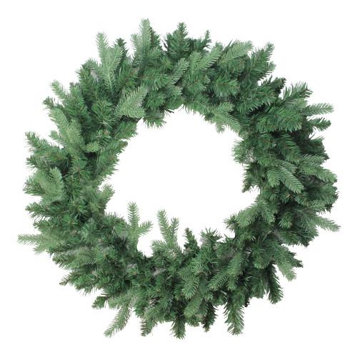 Mixed Eden Pine Artificial Christmas Wreath - 30-Inch, Unlit - IMAGE 1