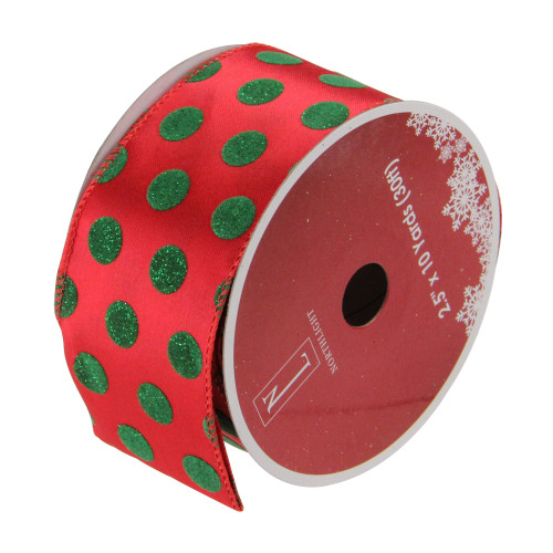 Club Pack Of 12 Raspberry Red Wired Christmas Craft Ribbon 2 5 X 10 Yards Christmas Central