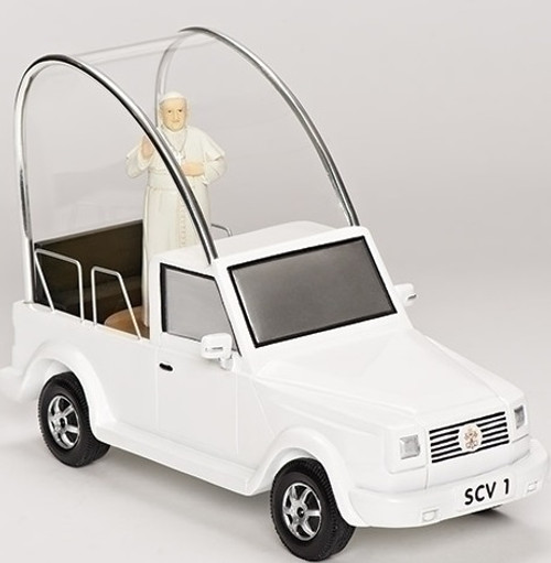 """6.75"""" Musical White and Black Pope Francis Mobile - IMAGE 1"""