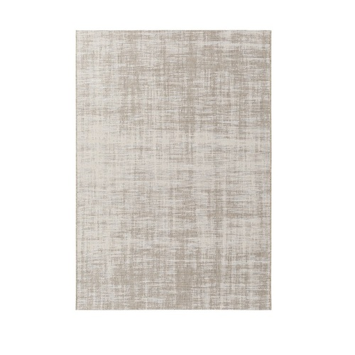 5.25' x 7.5' Classic Luxury Gray and Beige Rectangular Area Throw Rug - IMAGE 1