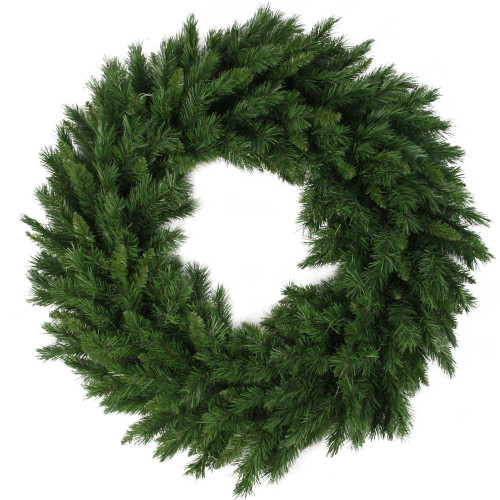 Lush Mixed Pine Artificial Christmas Wreath - 24-Inch, Unlit - IMAGE 1