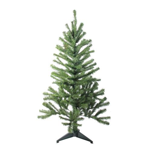 5' Canadian Pine Medium Artificial Christmas Tree - Unlit - IMAGE 1