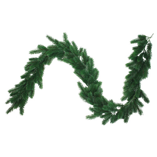 6' Decorative Green Pine Artificial Christmas Garland - IMAGE 1