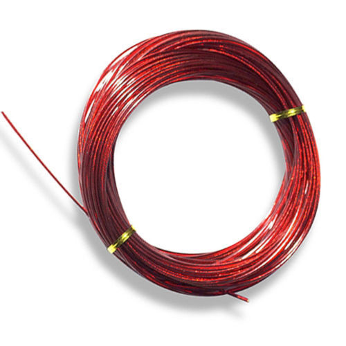 125' Red Clad Cable for Above Ground Swimming Pool Winter Covers - IMAGE 1