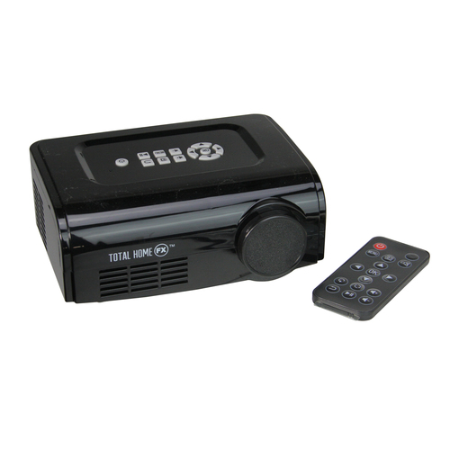 "6"" Black Window Display Christmas and Halloween FX Mini Projector Kit - IMAGE 1"