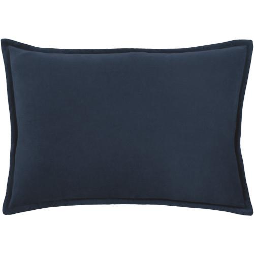 """13"""" x 19"""" Calma Semplicita Navy Blue Decorative Throw Pillow - IMAGE 1"""