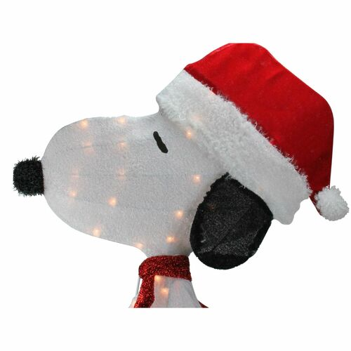 32 Pre-Lit PW 16208/_L2D Snoopy with a Present Outdoor Decoration