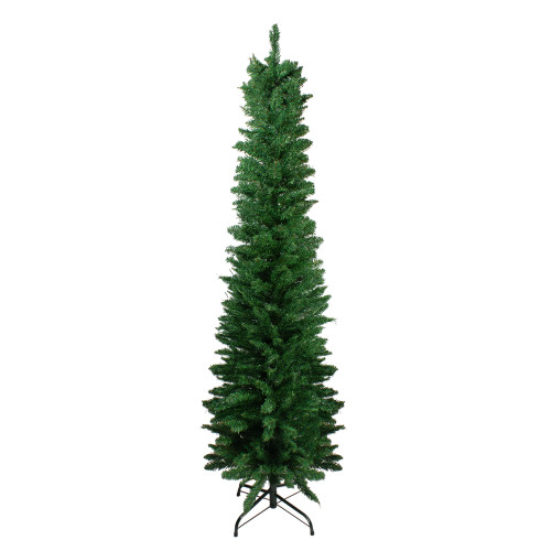 6' Northern Balsam Fir Pencil Artificial Christmas Tree - Unlit - IMAGE 1