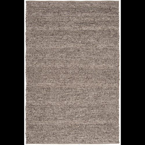 9' x 13' Intertwine Taupe Brown Hand Woven Area Throw Rug - IMAGE 1