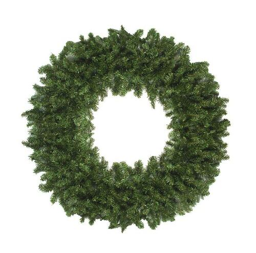Canadian Pine Artificial Christmas Wreath - 120-Inch, Unlit - IMAGE 1