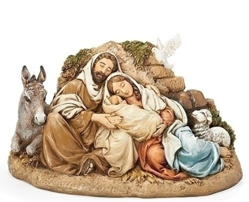 """9.5"""" Restful Holy Family Figures - IMAGE 1"""