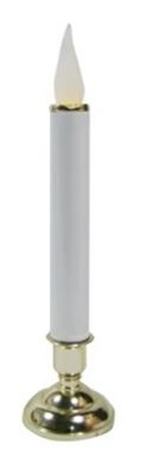 """10"""" Battery Operated Christmas LED Warm White Chatham Flame Candle Lamp - IMAGE 1"""