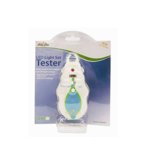 White LED and Incandescent Holiday Christmas Light Bulb Tester - IMAGE 1