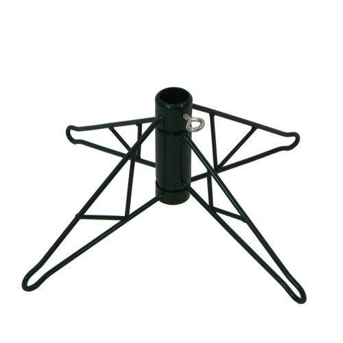 Green Metal Christmas Tree Stand for 4' - 4.5' Artificial Trees - IMAGE 1