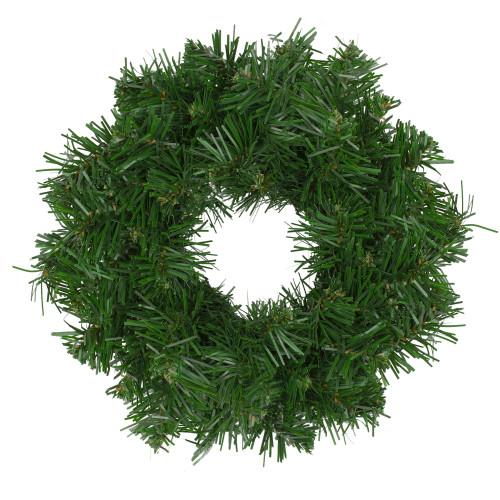 """8"""" Deluxe Windsor Pine Artificial Christmas Wreath - Unlit - IMAGE 1"""