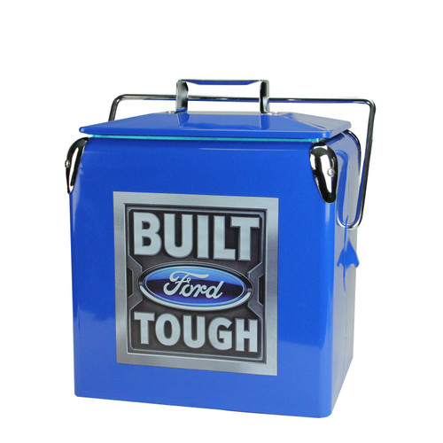 """Set of 2 Officially Licensed """"Ford"""" and """"Built Ford Tough"""" Coolers - IMAGE 1"""