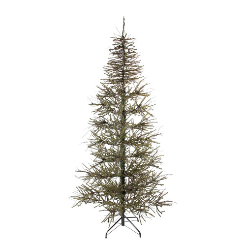 7' Warsaw Twig Medium Artificial Christmas Tree - Unlit - IMAGE 1